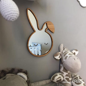 Bamboo bunny mirror -  The Party