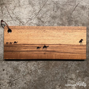 Engraved wooden board no.2
