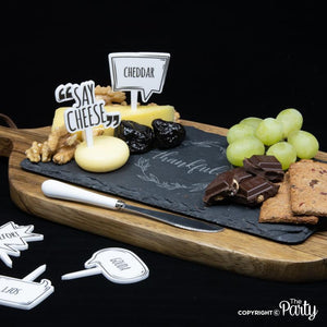 Cheese marker set -  The Party