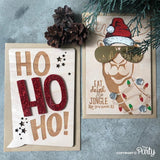 Birch Christmas card set -  The Party