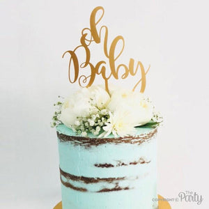 Generic Oh Baby cake topper -  The Party