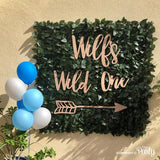 Customised Wild One sign -  The Party