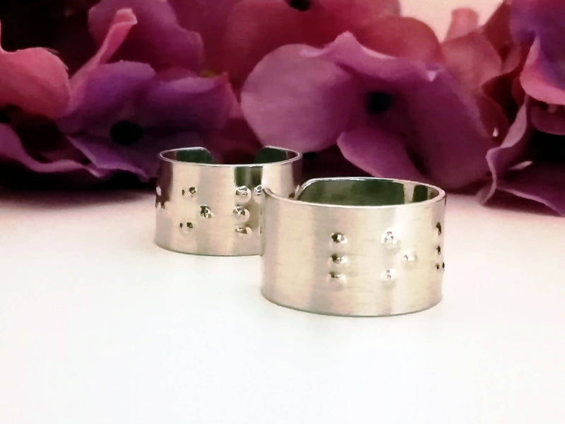 Braille Ring - Size 5 -9