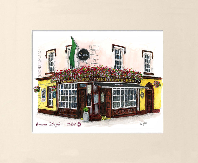 Irish Pub Print - The Anchorage Bar