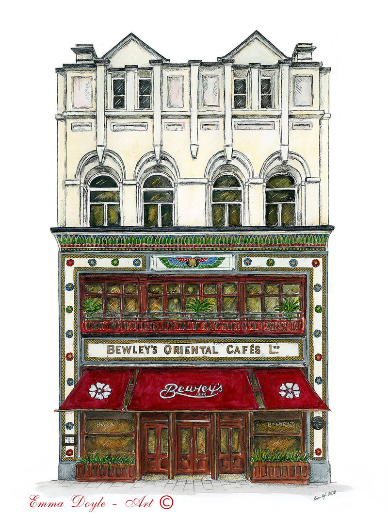 Bewley's Cafe, Dublin, Ireland