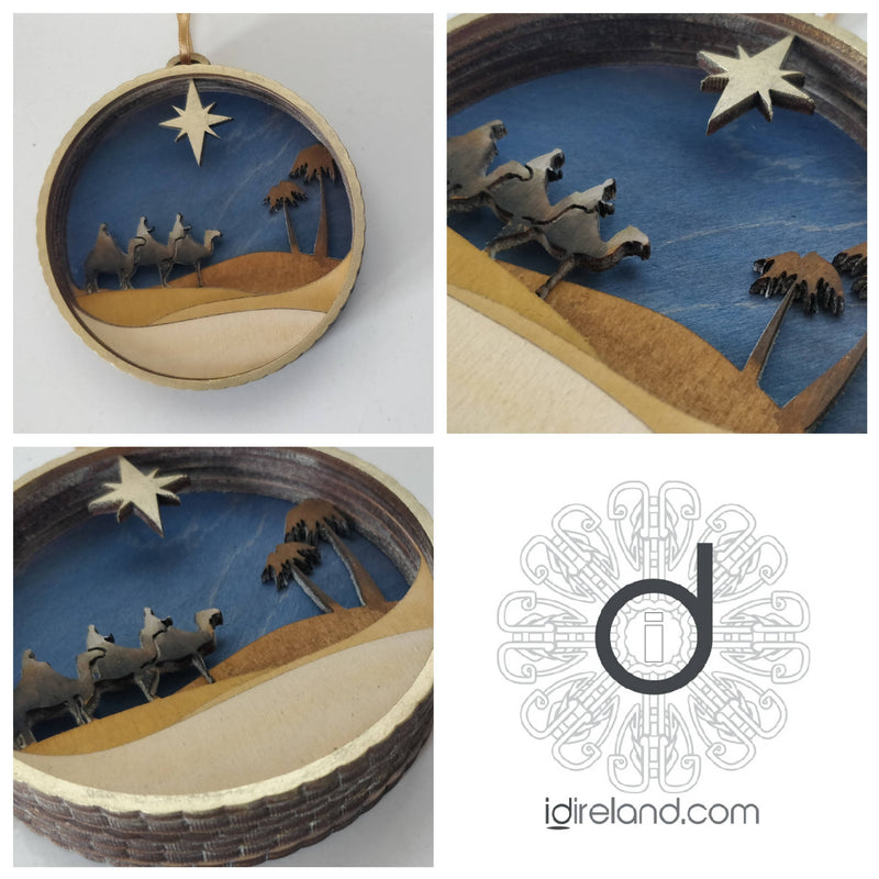 Nativity Bauble - The Three Wise Men
