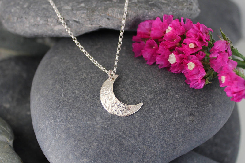 Cassie McCann The Coolyemoon Collection Crescent Pendant