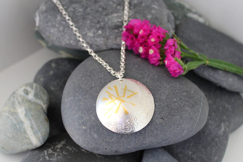 Cassie McCann The Coolyemoon Collection Large Pendant