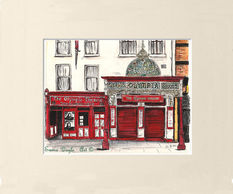 Irish Pub Print - The Olympia Theatre, Dublin, Ireland