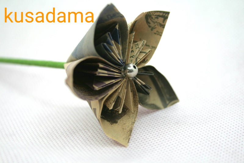 Origami bouquets