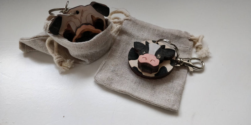 Billy Sheep Keyring