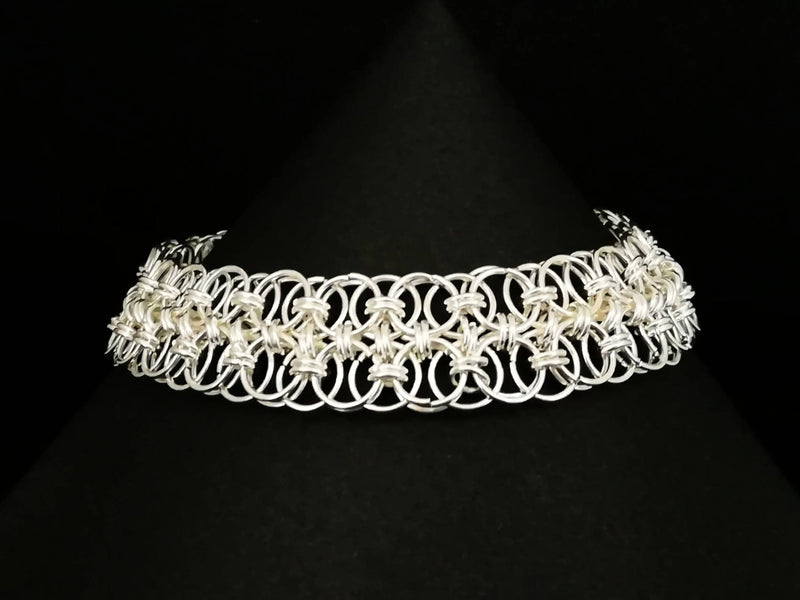 Double Helm Chain Weave Bracelet- Made to Order