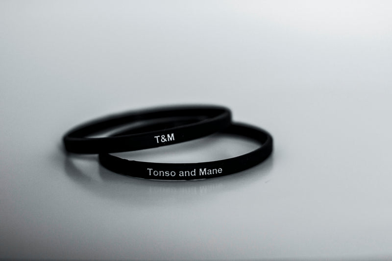 tonso and mane wristband