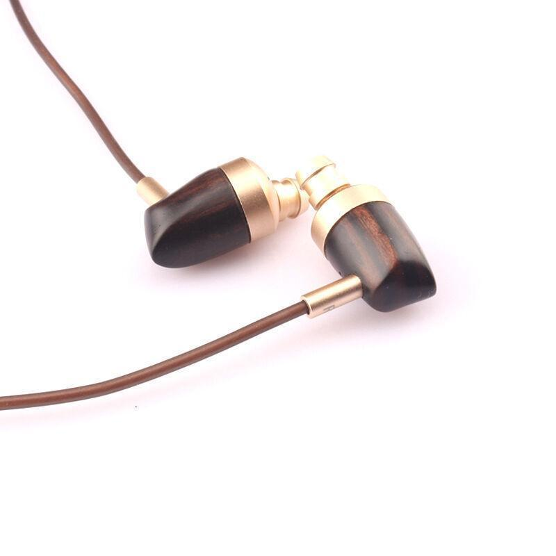 B16 Hybrid Wooden Earphones