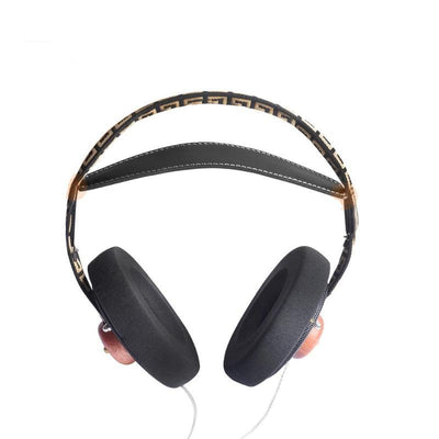 Wooden Over-Ear Stereo Headphones