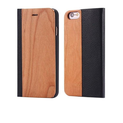 Wooden Flip iPhone Case