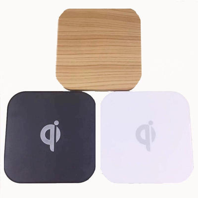 Wireless Wood Slab Phone Charger
