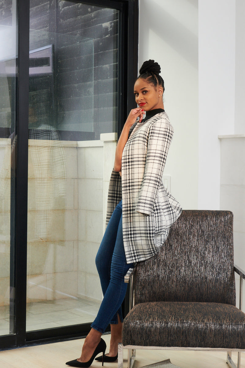 plaid tweed collection