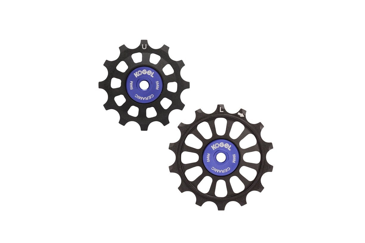 Kogel Hybrid 12/14T Oversized Derailleur Pulleys for Shimano