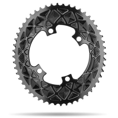 ABSOLUTE BLACK ROAD OVAL SHIMANO 110/4 Chainrings