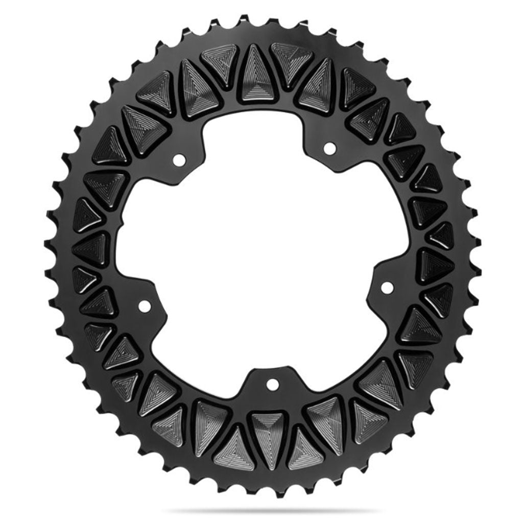absolute BLACK ROAD OVAL SUB-COMPACT 110/4 Chainring