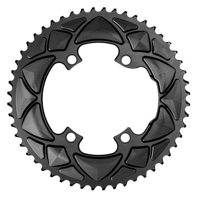 ABSOLUTE BLACK ROAD OVAL DURA ACE R9100 & ULTEGRA R8000- 53t