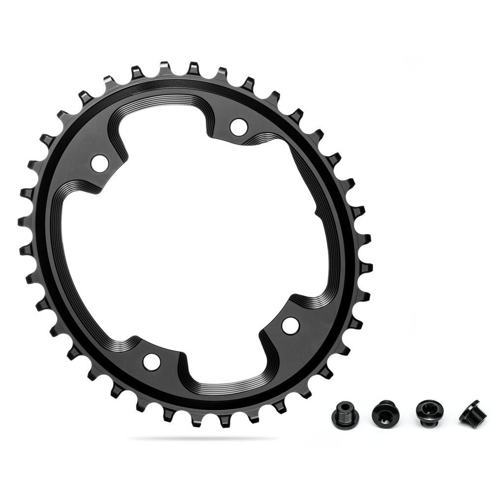 Absolute Black Oval Chainring