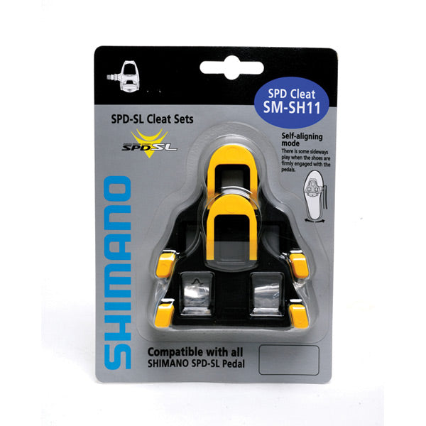 Shimano SL-Cleats , Centre Pivot Floating, Yellow