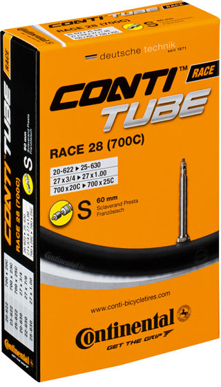 Continental R28 700c Presta 60mm long valve inner tube