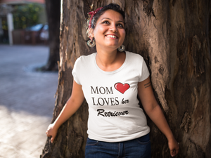 Mom Loves Her Retriever - Ladies' Favorite Tee