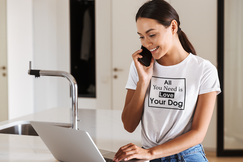 All You Need Is Love Your Dog - Ladies' Favorite Tee