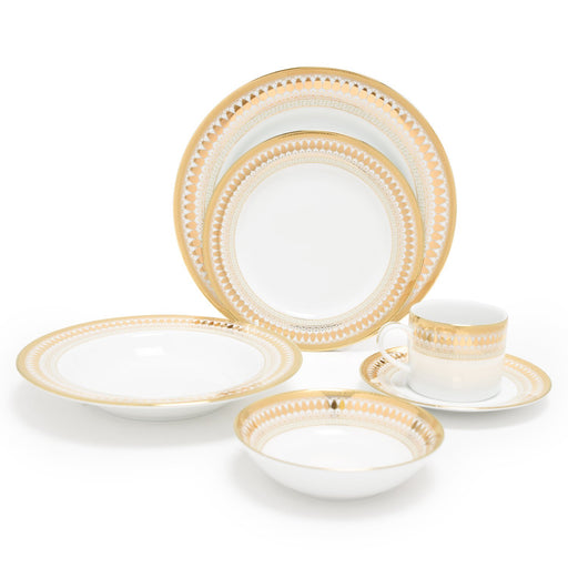 Dankotuwa Porcelain Luann Dinner Set - 24 Piece - LUAN-24DS