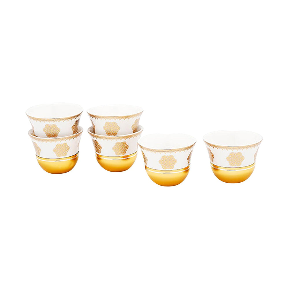 Amber Larisa 6 Piece Cawa Cups - AM3373-S28/026/6PC