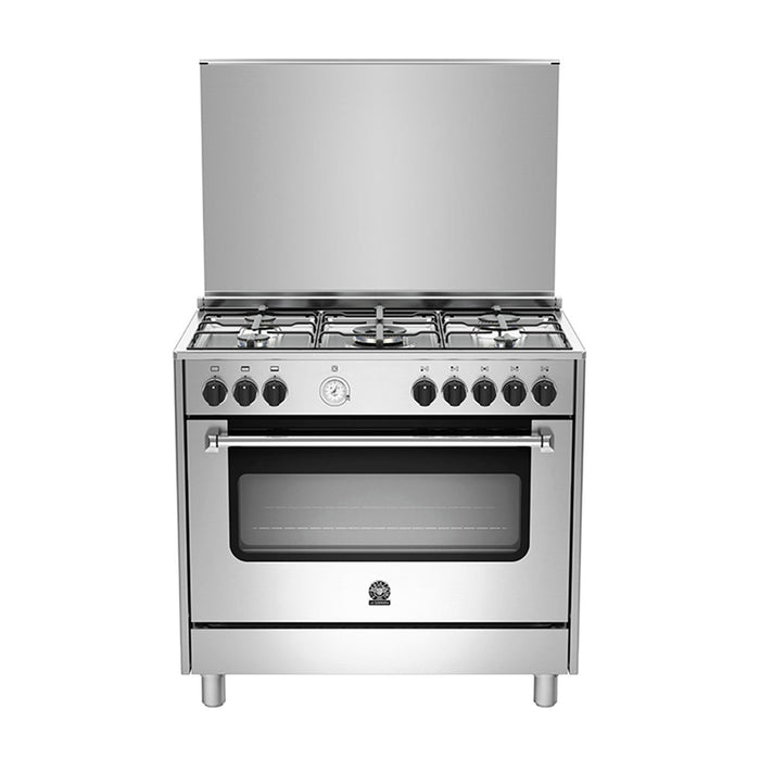 Bertazzoni 5 Gas Burners with Grill - Silver - AMS95C31CX
