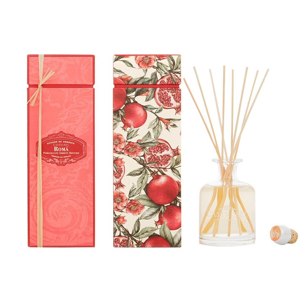 Castelbel Amber Pomegranate Reed Diffuser - 250ml - C1-2104