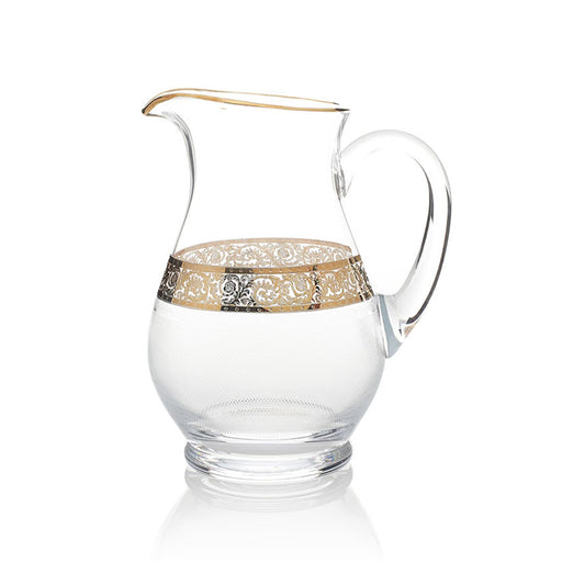 Combi Angelique Jug - Clear and Gold - G369Z-38C