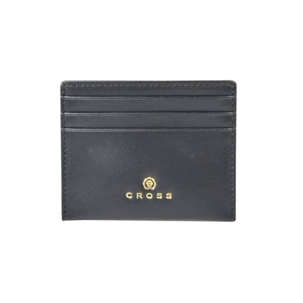 Cross Leather Concordia Credit Card Case for Men Leather - Black - AC1108257-1-1