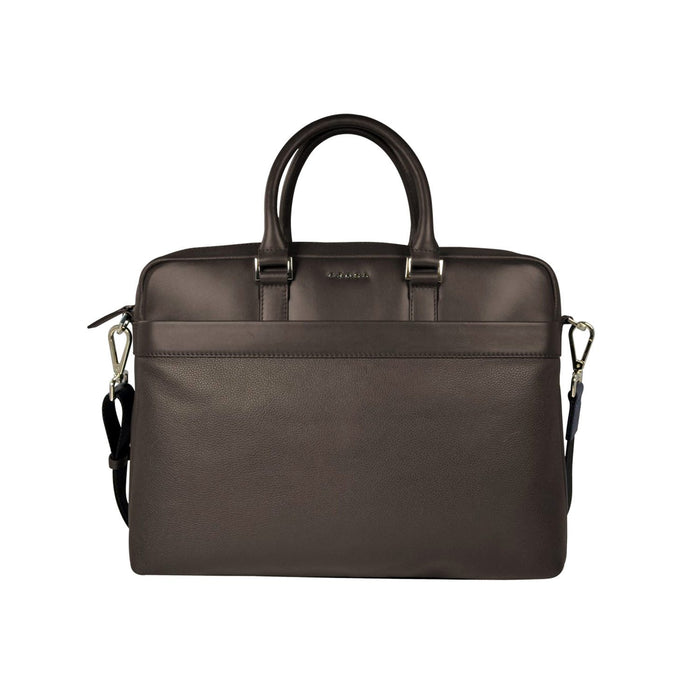 Cross Leather Renovar Weekender Briefcase for Men Leather - Oak Brown - AC941264-1-3