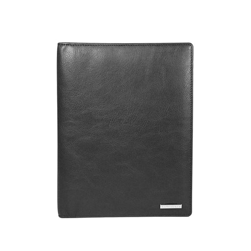 Cross Leather Unisex Insignia Express A5 Size Planner with Cross Leather Agenda Pen Leather - Black - AC1268329-2-1