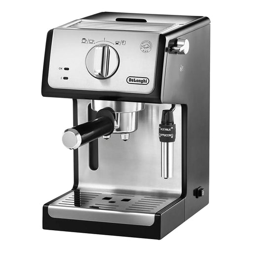 De'Longhi Coffee Machine - Silver and Black - ECP35.31