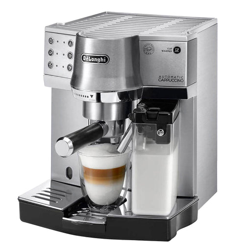 De'Longhi Coffee Machine - Silver - EC860.M