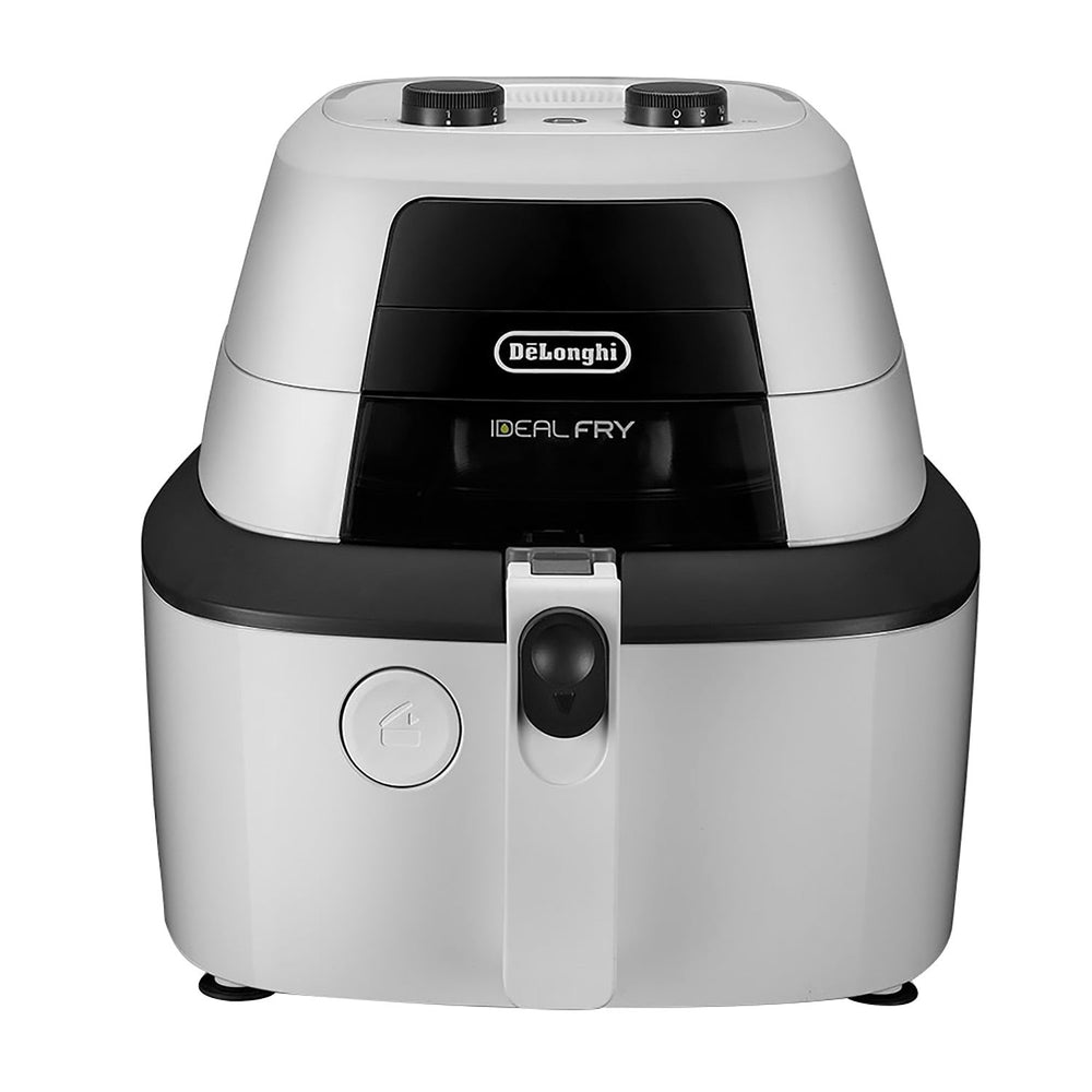 De'Longhi Ideal Fry Cooker - White and Black - FH2133.W