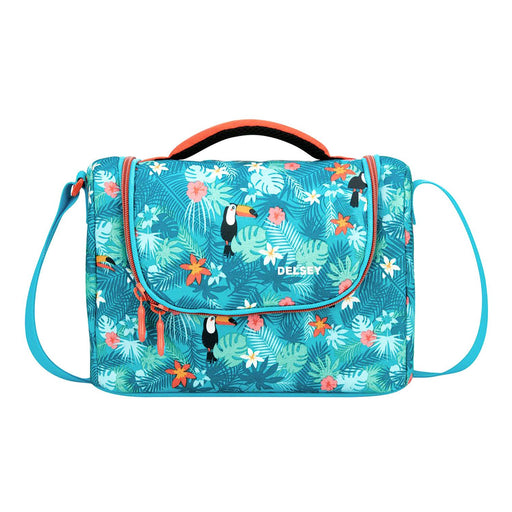 Delsey Back to School 2018 Isotherm Lunch Bag - Turquoise - 00339319012 TURQUOISE