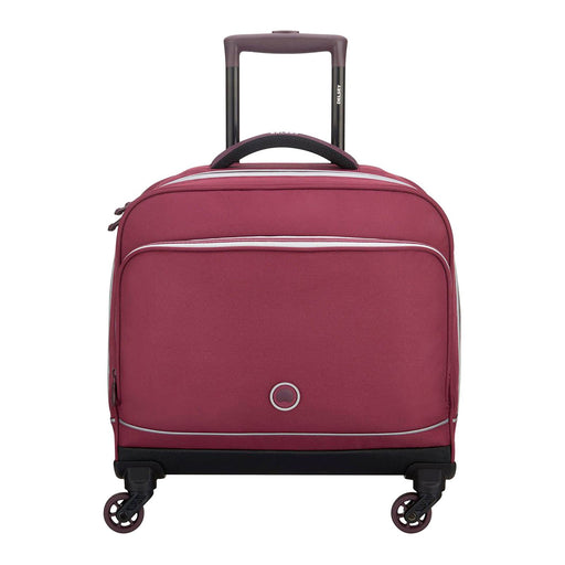 Delsey Back to School 2018 4 Wheel Back to School Bag - Raspberry - 00339345224 RASPBERRY