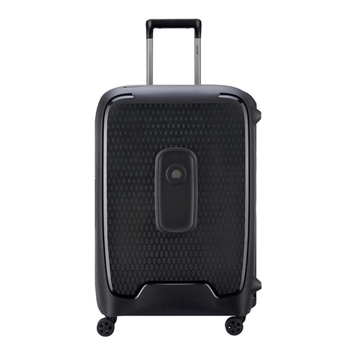 Delsey Moncey 4 Double Wheel Cabin Trolley Case - Black - 00384482000 BLACK