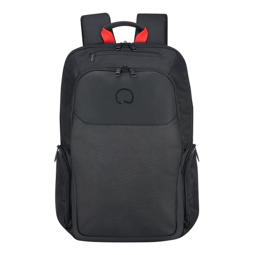 "Delsey Parvis Plus 2 Compartment 15.6"" PC Protection Backpack - 00394460300 BLK"