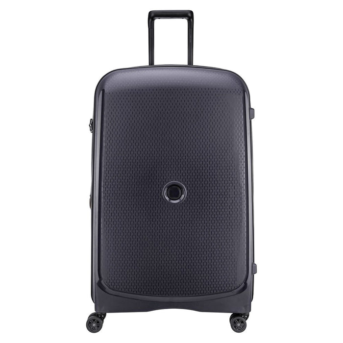 Delsey Plus 4 Double Wheels Expandable Trolley Bag - Black - 00386183001 ANT