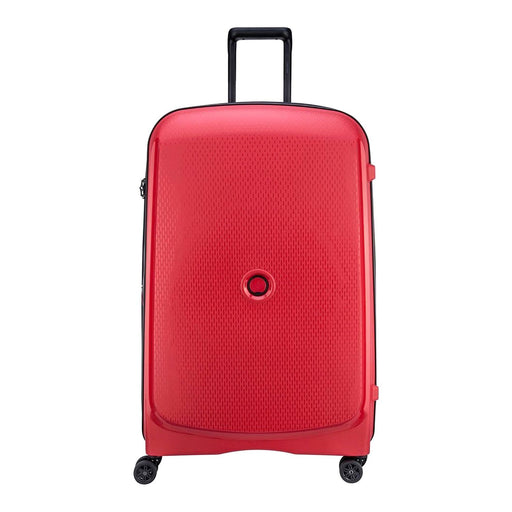 Delsey Belmont Plus 4 Double Wheel Expandable Trolley Case - Red - 00386183004 RED