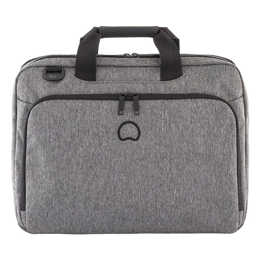 Delsey Esplanade 2 Compartment PC Protection Satchel - Anthracite - 00394216101 ANT