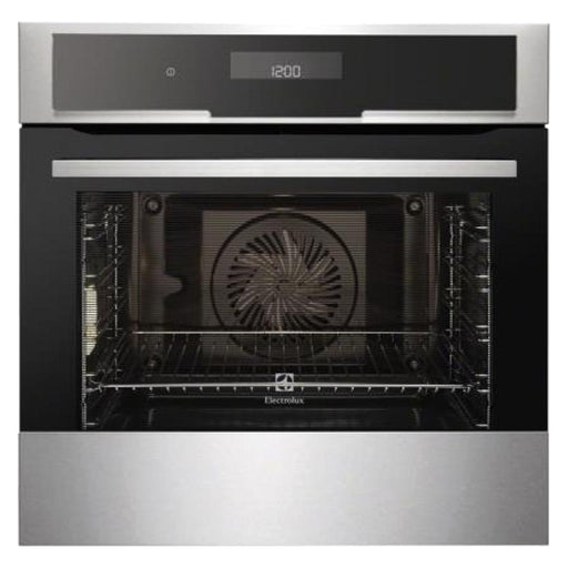Electrolux Integrated Multifunction Double Oven - Silver - EOC5851AAX
